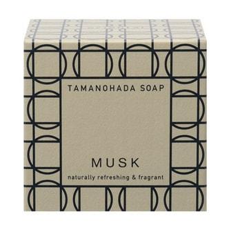 TAMANOHADA Naturally Refreshing & Fragant Soap Musk 125g