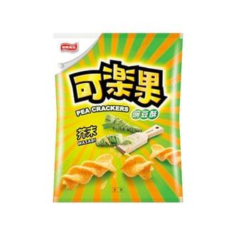 台湾联华食品 可乐果 豌豆脆 芥末味 57g 阿妹代言