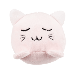 Miniso Plush Toy with Sound #Pink Kitten