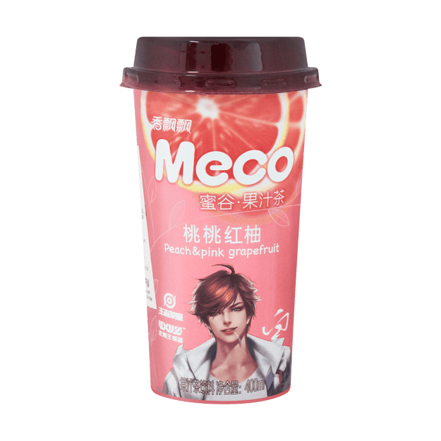Product Detail - XIANGPIAOPIAO Peach Red Pomelo Tea 400ml - image 0