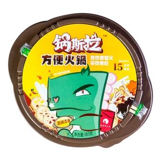 GUO SI LA Instant Spicy Hot Pot Vegetable 383g