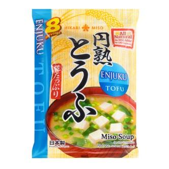 日本HIKARI MISO ENJUKU 即食豆腐味增汤 8包入 150.4g