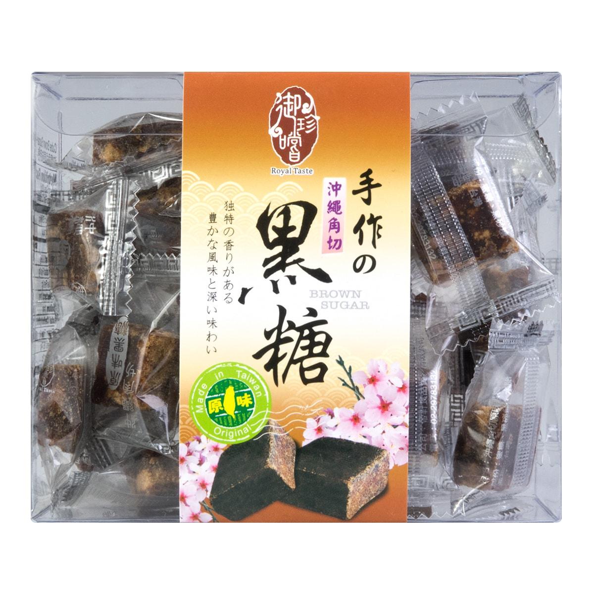 台湾御珍尝 手作冲绳角切黑糖 原味 220g 怎么样 - 亚米网