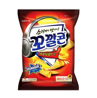 LOTTE Sweet Spicy Corn Snack 77g