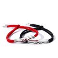 IDA CALLEGARO Couple Bracelet Bracelet A pair of men and women sterling silver  bracelet