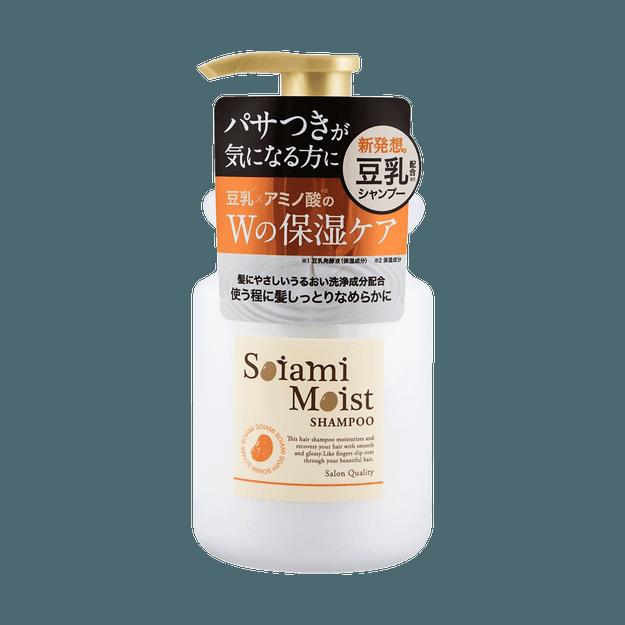 Product Detail - AQUANOA SOIAMI Moist Shampoo 420ml - image 0