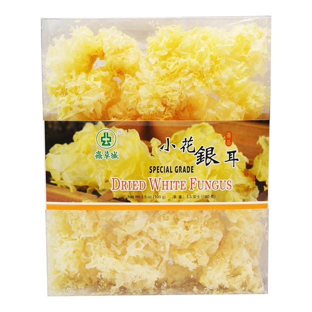 CHUNG CHOU CITY Dried White Fungus 100g