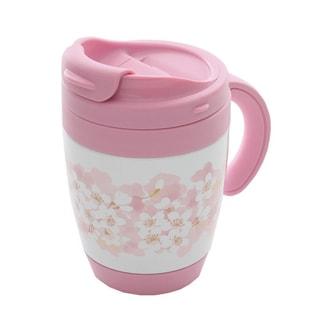 THERMOS&AFTERNOON TEA Sakura Handle Keep Hot Cup Japan Limited