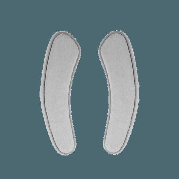 商品详情 - 网易严选 加厚保暖仿兔绒粘贴式马桶圈垫 一对装 灰色 - image  0
