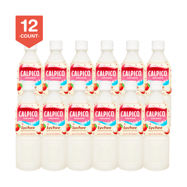 Product Detail - 【Value Set】CALPICO Lychee Naturally Artificially Flavored Non Carbonated Soft Drink 500ml * 12 - image 0