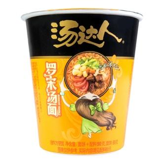 台湾统一 汤达人 罗宋汤面 杯装 90g