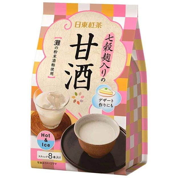 商品详情 - DHL直发【日本直邮】日本日东红茶 秋季新品 甜酒口味 8包入 - image  0