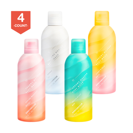 Triptych Of Lune Amino Acid Body Soap Neroli+Honey Milk+Mojito+Sakura 350ml Each 4 Packs