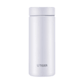 TIGER Stainless Steel Vacuum Insulated Thermal Bottle Mug #Ice White 350ml MMZ-A351 WS