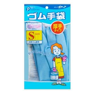 日本FAMILY GOODS 绒里橡胶手套 S码 多种颜色随机发