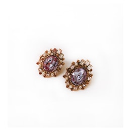JDREY Purple Princess Earring 1 Pair