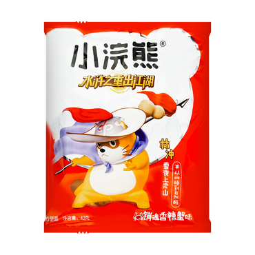 XIAOHUANXIONG Snack Instant Noodle Spciy Crab Flavor 1.62 Ounces