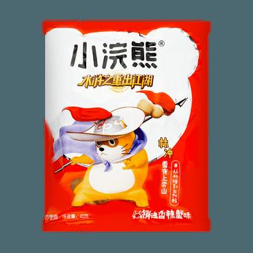 台湾统一 小浣熊干脆面 销魂香辣蟹味 40g