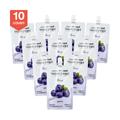 韩国DR.LIV 低糖低卡蒟蒻果冻 蓝莓味 150g x10个