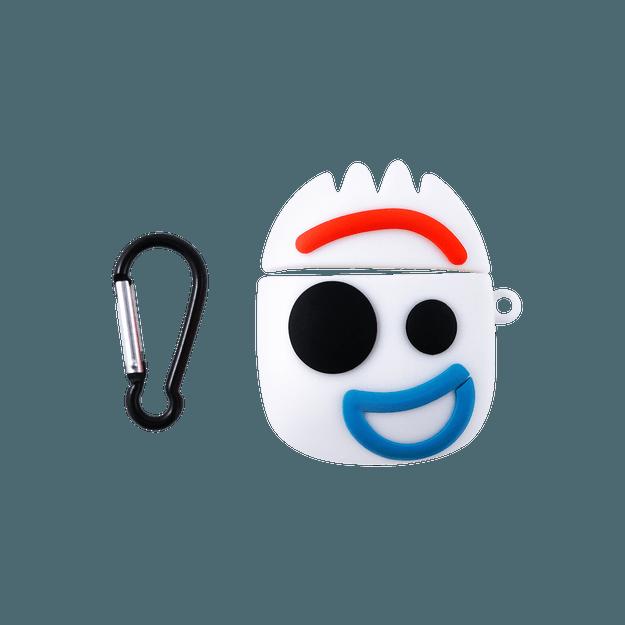 商品详情 - 苹果AirPods 硅胶保护套 耳机保护套 可爱个性ins风 适用于AirPods 一代/二代 无线充电版 玩具总动员叉叉 - image  0
