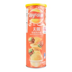 LAY'S Potato Chips BBQ 104g
