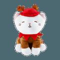 Christmas Series Kitten Plush Toy(Reindeer)