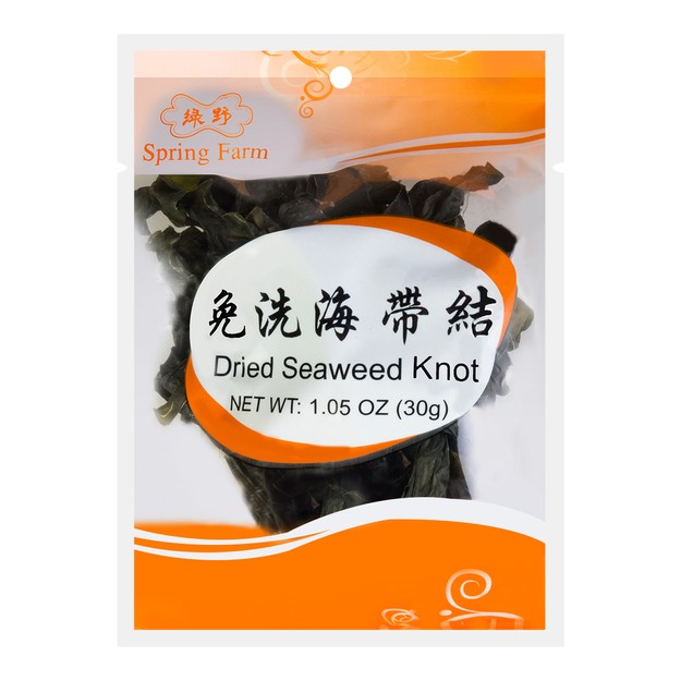 Product Detail - SPRING FARM Dried Seaweed Knot 30g - image 0