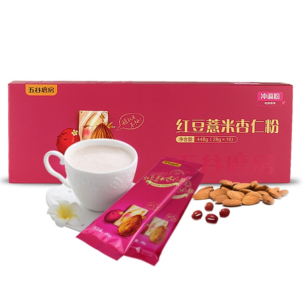 Product Detail - WUGU MOFANG RED BEAN COIX AND ALMOND CEREAL MEAL 448g - image 0