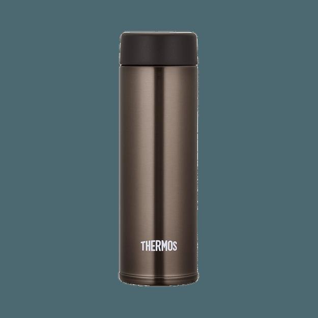 商品详情 - THERMOS 膳魔师||真空断热随身杯JOJ-150-BW||褐色 150ml - image  0