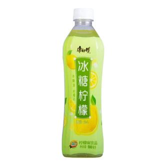 康师傅 冰糖柠檬 500ml