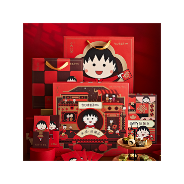 【Limited Edition】【Pre-order】【EST Ship Date 1/25】Chibi Maruko Chan X MATCHALL Cookie Box 16pcs