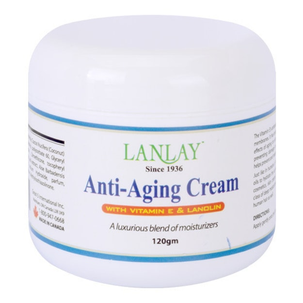 LANLAY Anti-Aging Cream with Vitamin E and Lanolin 120g