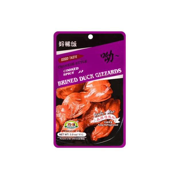 商品详情 - 纯味 ⿇辣鸭胗 85g - image  0