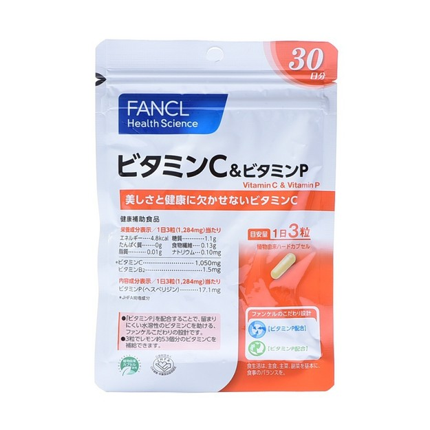 Product Detail - FANCL Vitamin C & Vitamin P 30tables - image 0