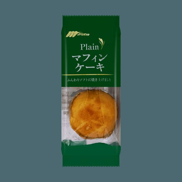 商品详情 - 日本MARUKIN丸金 蛋糕原味 2枚入 100g 包装随机发送 - image  0