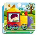 邦臣小红花:动手动脑玩拼图6(2-3岁)(12块)