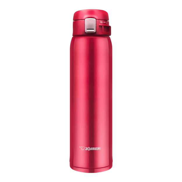 Product Detail - ZOJIRUSHI One Touch Stainless Steel Vacuum Thermal Bottle Glossy Red 600ml SM-SD60RC - image 0