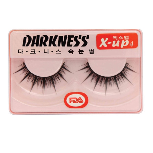 Product Detail - DARKNESS False Eyelashes  #Xup4 1Pair In 1Box - image 0