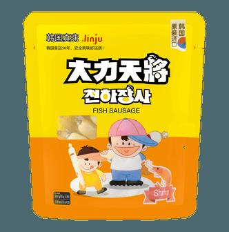韩国大力天将 鳕鱼肠 鲜虾味 20根入 300g