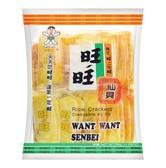 WANT WANT Senbei Rice Crakers 10 Packs