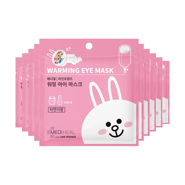 Product Detail - MEDIHEAL X LINE FRIENDS Warming Eye Mask Lavender 10pcs - image 0