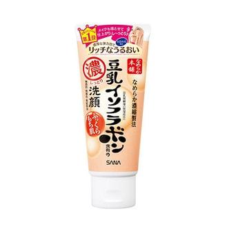 日本SANA莎娜 豆乳美肌 超保湿洁面乳 150g