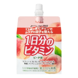 Vitamin Peach Jelly Drink 180g