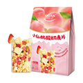 【薇娅推荐】欧扎克 小仙桃酸奶 干吃零食 水果谷物冲饮代餐麦片 400g
