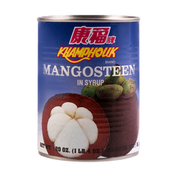 KHAMPHOUK Mangosteen In Syrup 567g