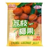 台湾晶晶 荔枝椰果冻 400g