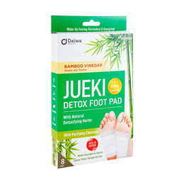 DAIWA Jueki Detox Foot Pad Bamboo Vinegar 8 Sheets