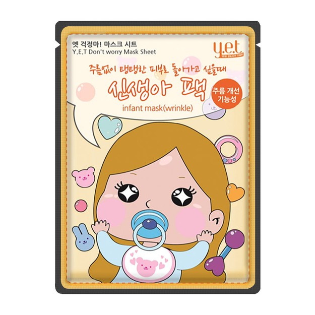 Product Detail - Y.E.T. Don't Worry Mask Infant Wrinkle 1 Sheet - image 0
