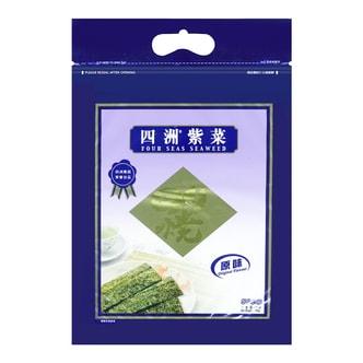 四洲紫菜 即食海苔 原味 50小包入 40g