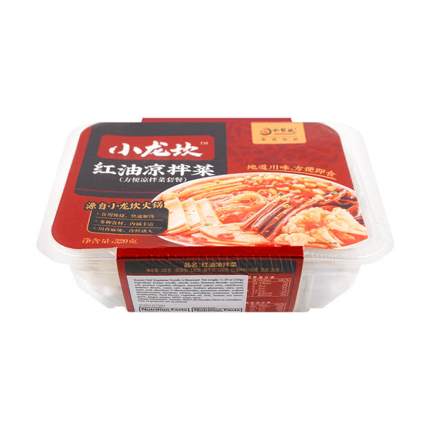 Product Detail - XIAOLONGKAN Spicy Vegetable Mix 320g - image 0